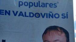 Boicotean el cartel de un candidato del PP de Galicia de la manera más cruel