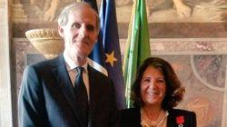 Presentata all'ambasciata francese la Legion d'Onore all'ex ministro Paola