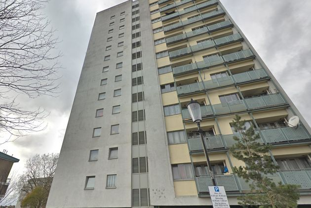 Adair Tower in west London where the bodies were discovered by