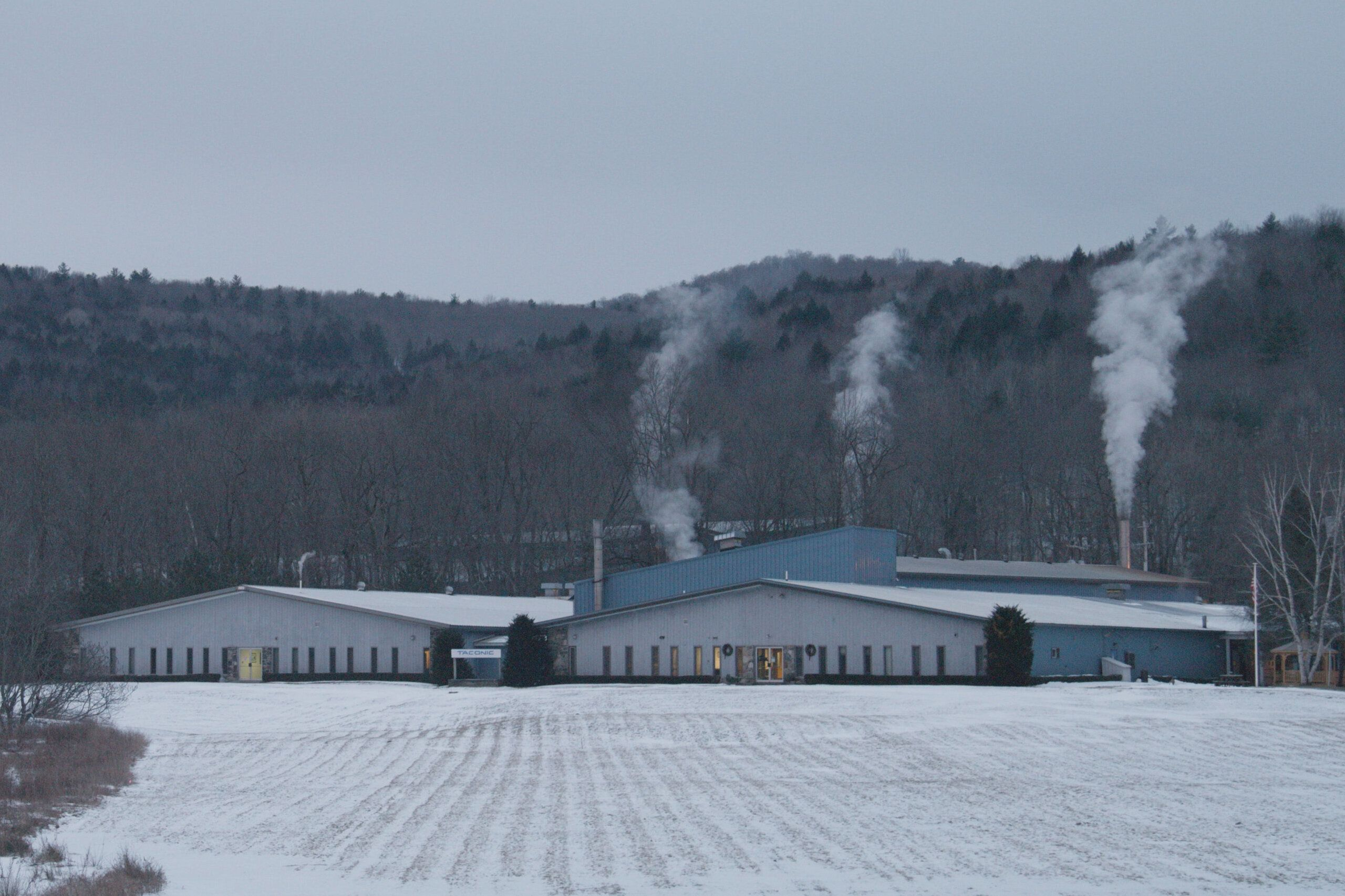Taconic Plastics plant in Petersburgh, New York, where PFOA was used until 2013.
