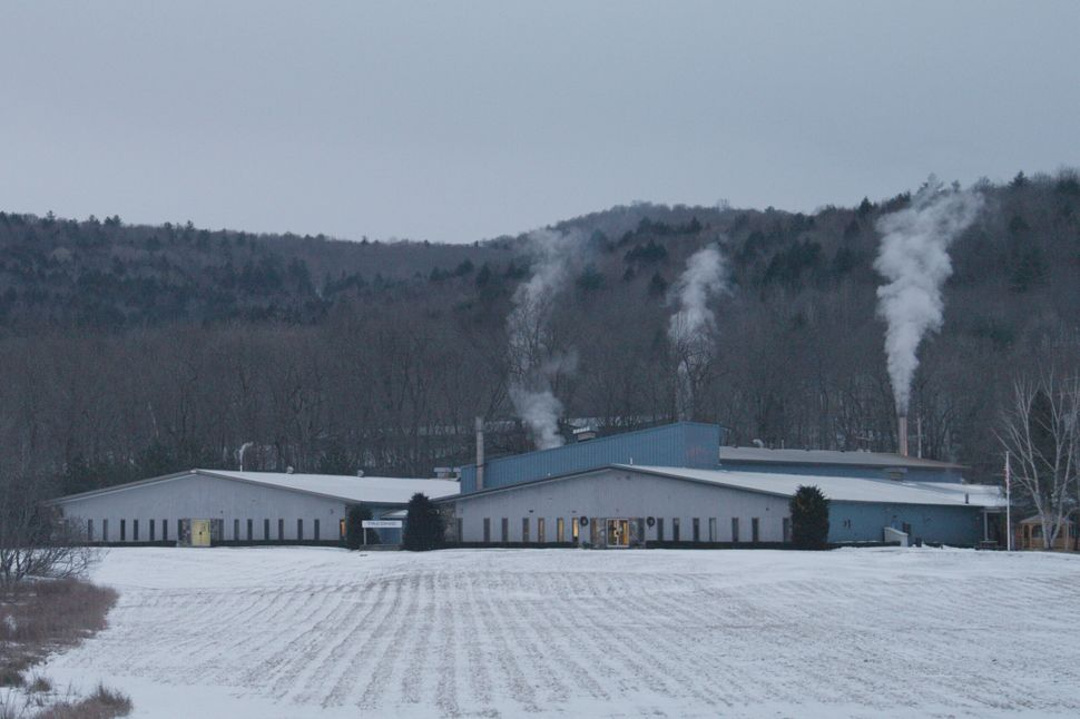 Taconic Plastics plant in Petersburgh, New York, where PFOA was used until