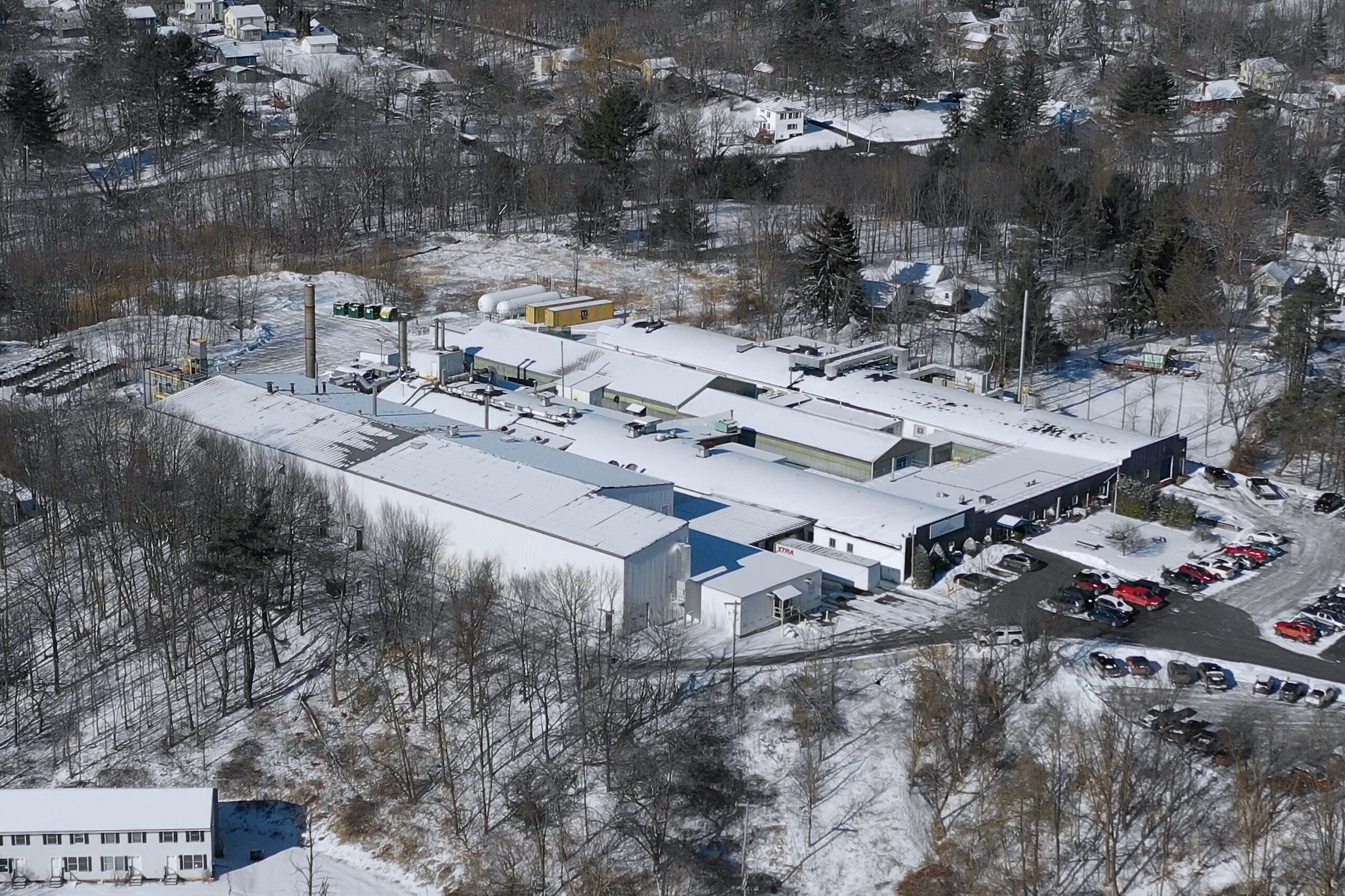 The Saint-Gobain Performance Plastics site in Hoosick Falls, New York.