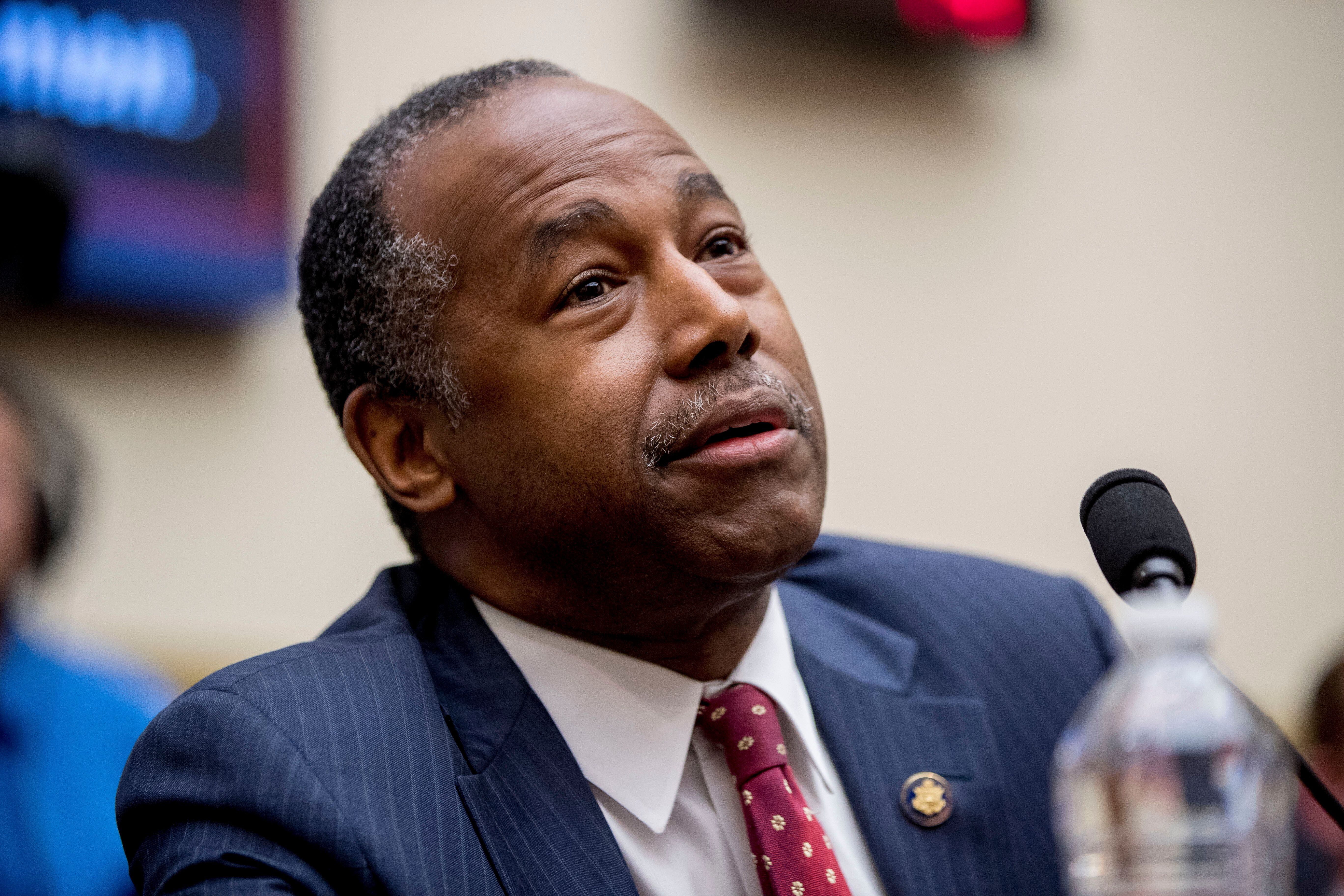 Lawmaker Urges Ben Carson To Resign After Disastrous House