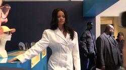 Les premières images de la collection de Rihanna pour