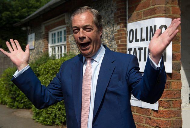 Brexit Party leader Nigel