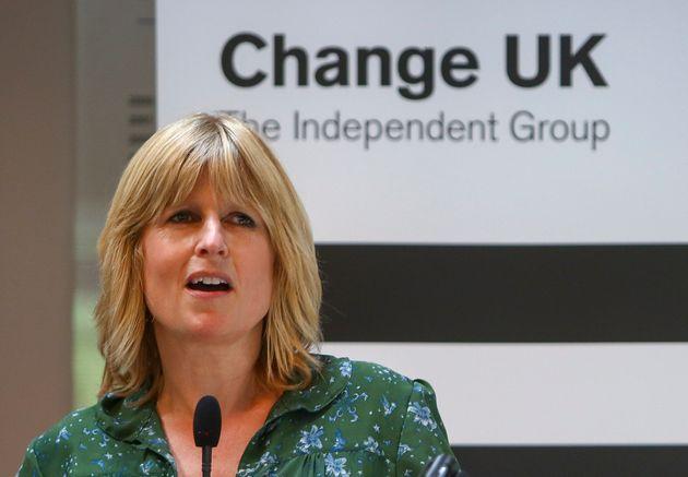 Change UK candidate Rachel