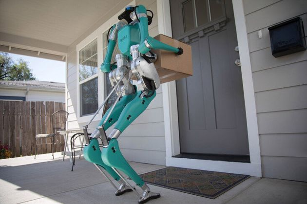 ドアを開けたら、ピザの配達員がロボットだった…という時代が来るかも