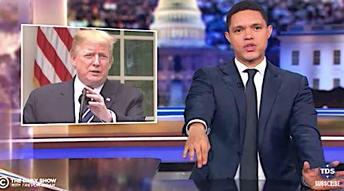 Trevor Noah on Trump temper tantrum
