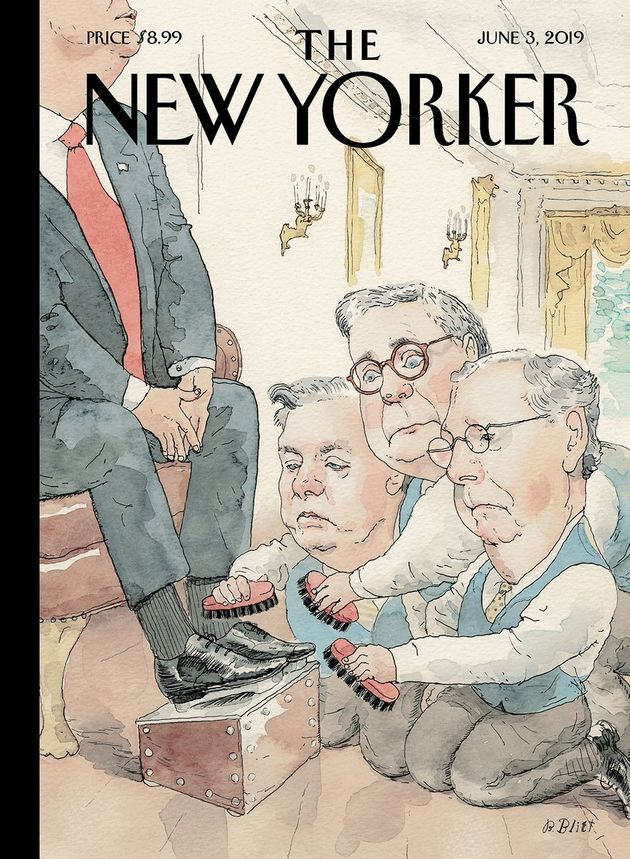 New Yorker Gives Trump Enablers Mcconnell Graham Barr A