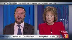 La stoccata di Gruber a Salvini: