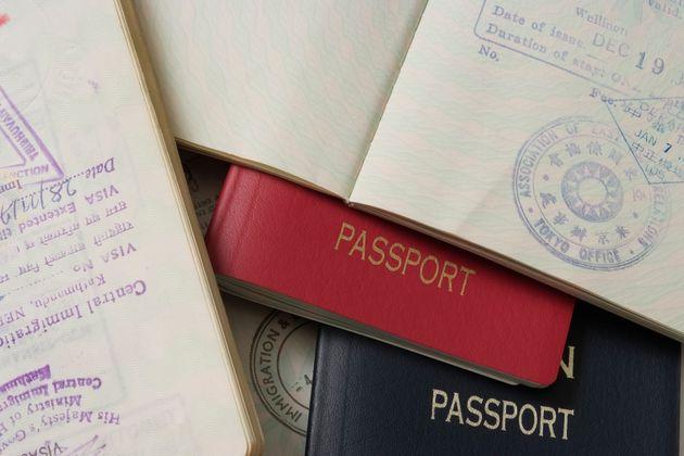 パスポートのイメージ写真