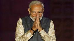 인도 총선에서 나렌드라 모디 총리의 집권당이 압승을