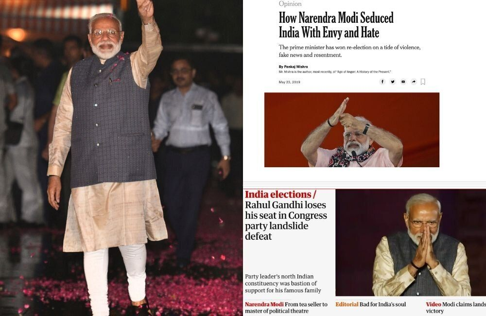 'Bad For India's Soul': This Is What Foreign Media Said About Modi's Landslide