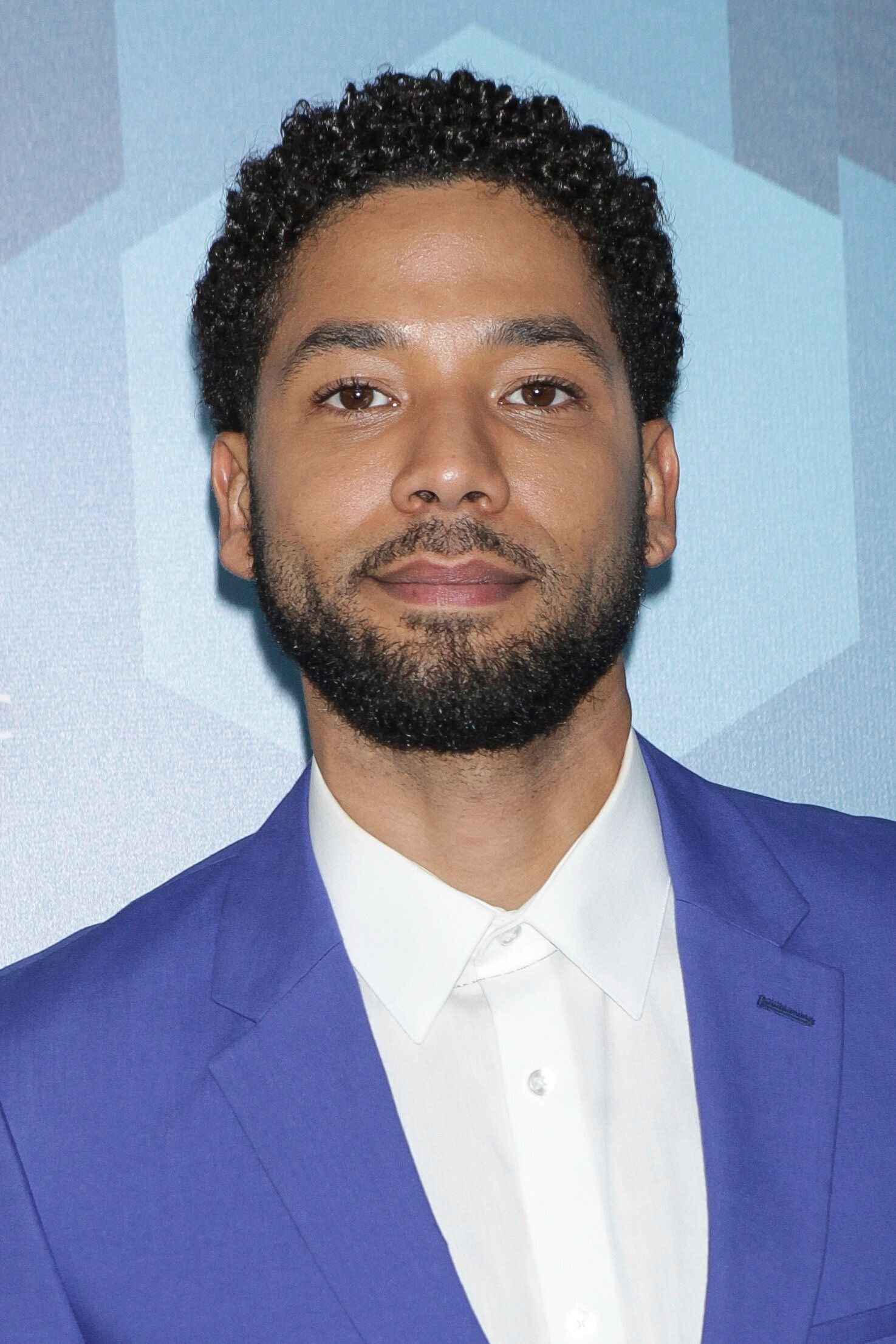 NEW YORK CITY - MAY 16: Jussie Smollett arrives at the FOX 2016 Programming Presentation red carpet arrivals at the Wollman Rink in Central Park on Monday, May 16, 2016, in New York City. Diego Corredor / MediaPunch /IPX