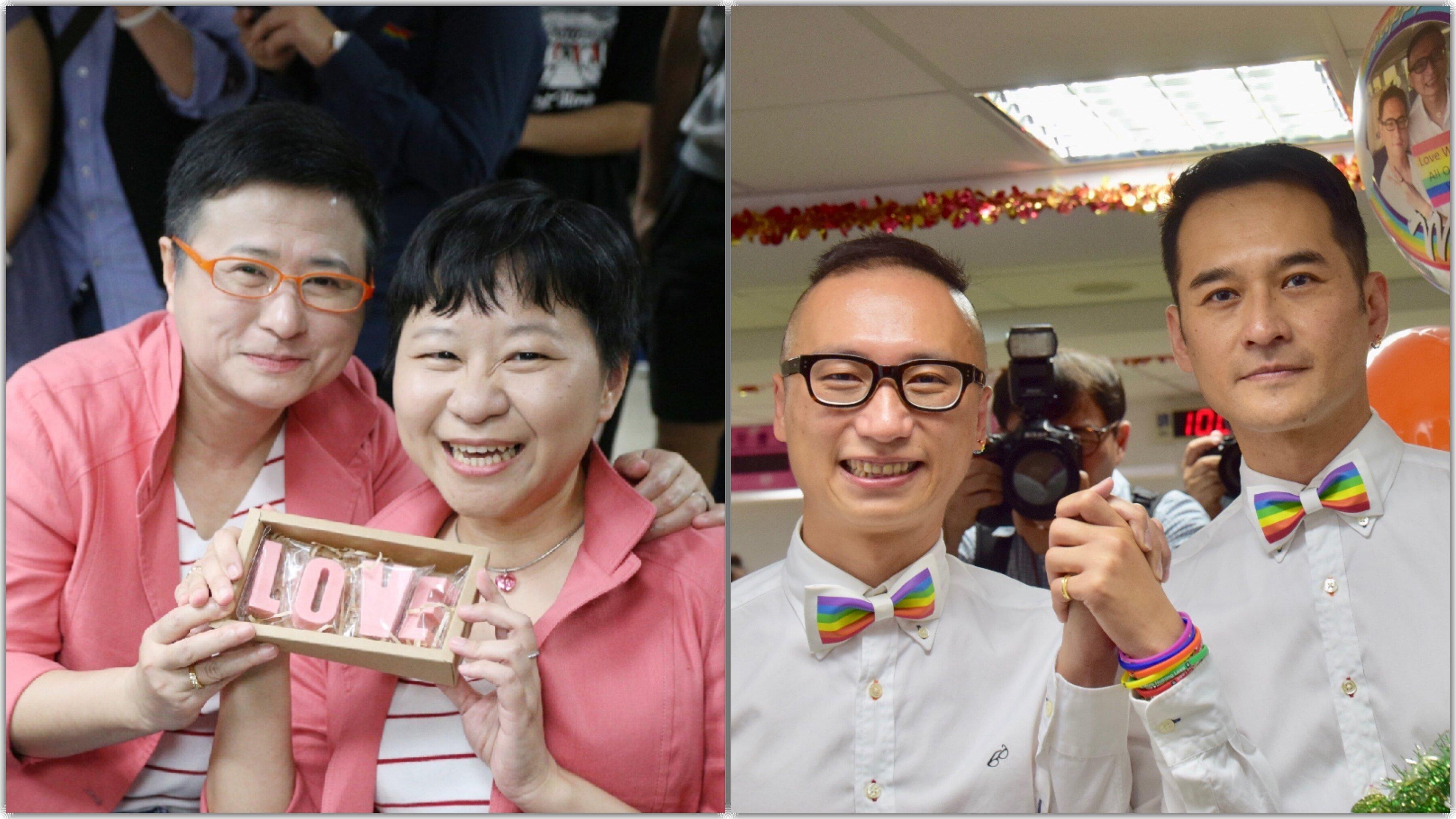 台湾で、アジア初の同性婚スタート。婚姻届を出したカップル「とてもハッピー。でもこれは最初の一歩」