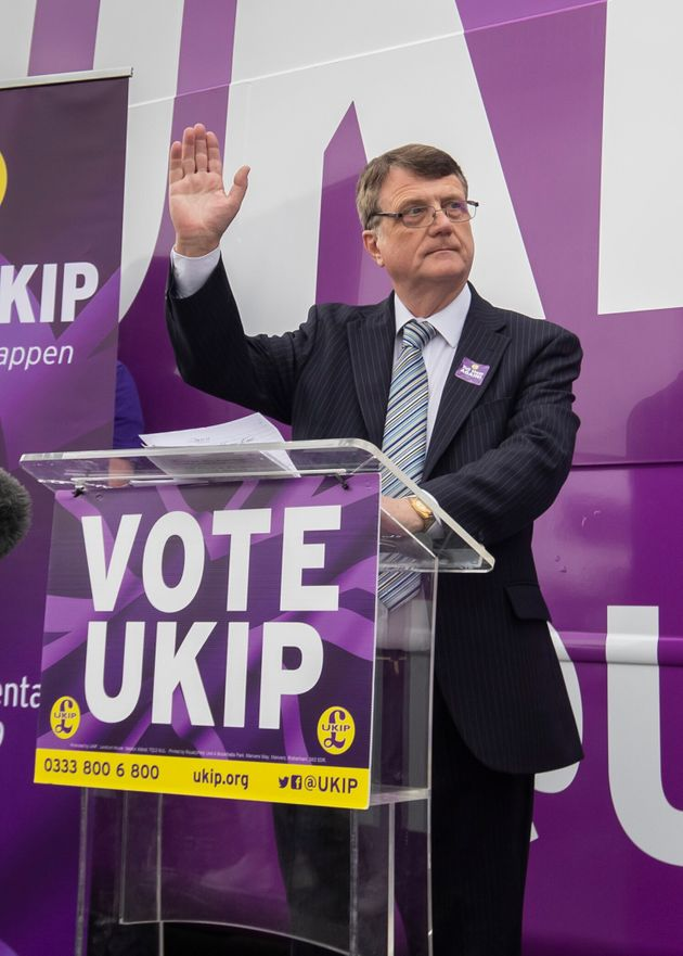 UKIP leader Gerard