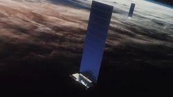 SpaceX lance les premiers de ses 12.000 satellites pour