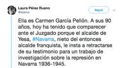 La situación que está sufriendo Carmen García Pellón, una anciana de 90 años, indigna a