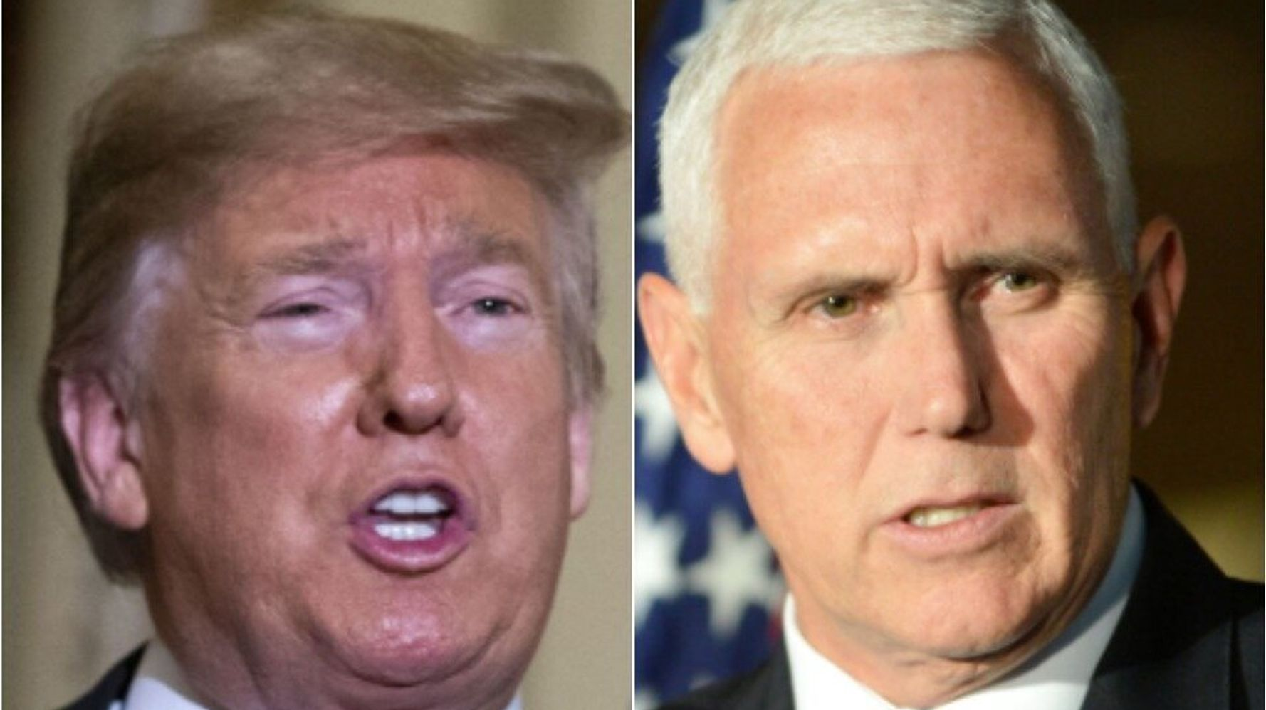 Westlake Legal Group 5ce7c60e210000b40ed0f0d5 Trump Just Sent Another Big Signal He'll Throw Pence Under The Bus, Maddow Says