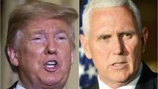 Trump Schickte ein Weiteres Großes Signal, Er werde Werfen Pence Unter Dem Bus, Maddow, Sagt