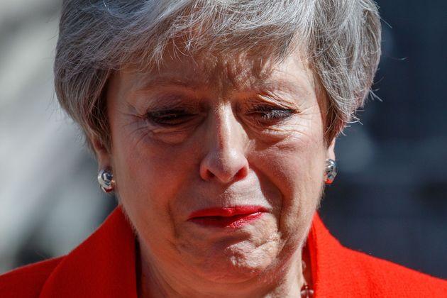 테레사 메이 영국 총리가 총리직 사퇴를