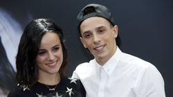 Alizée et le danseur Grégoire Lyonnet attendent leur premier