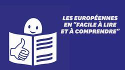 Voici à quoi ressemble le mode d'emploi des européennes en langage FALC adapté aux
