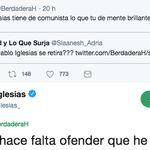 Pablo Iglesias da la respuesta más inesperada a este usuario de