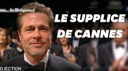 À Cannes, les gros plans pendant les standing ovations ont mis les acteurs très mal à