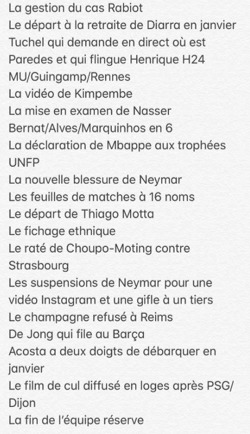Reims-PSG: un fan parisien a listé les 20 ratés du club cette