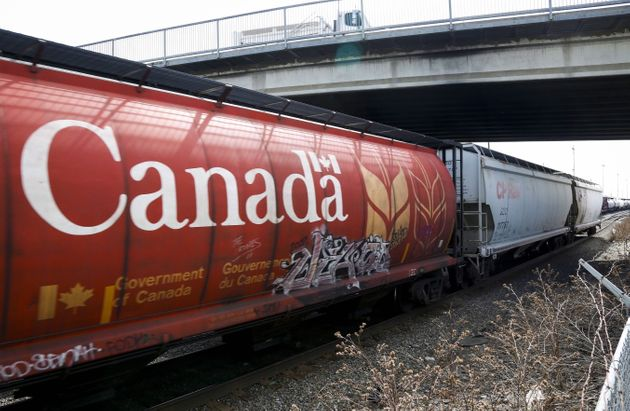 A Canadian Pacific Rail train is seen here travelling through Calgary on May 1, 2014. A proposal to build...