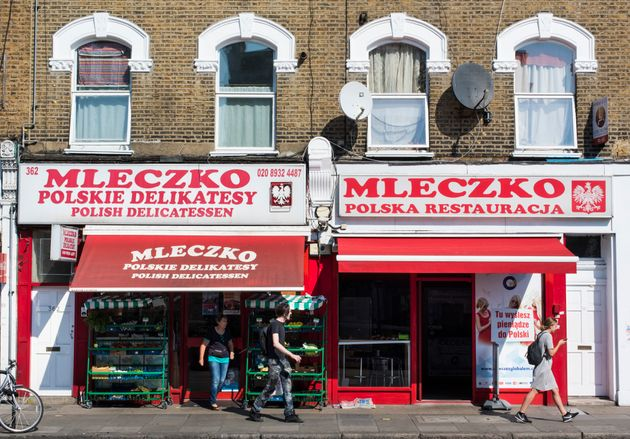 A Polish shop and restaurant in west
