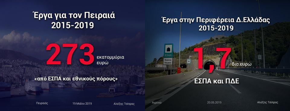 Ενδεικτικές εικόνες που αναρτήθηκαν στον προσωπικό λογαριασμό του Αλέξη Τσίπρα στο