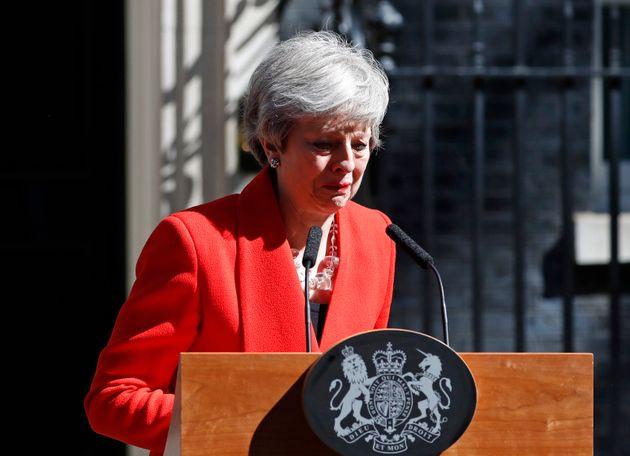 Theresa May, Première ministre de 2016 à