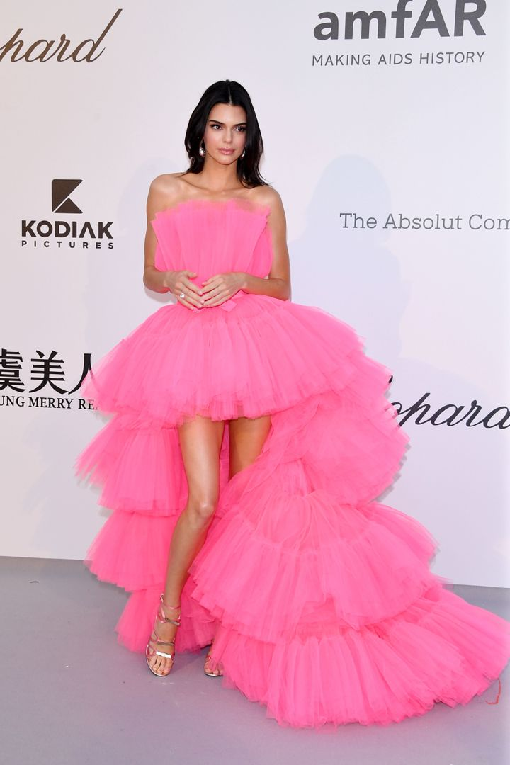 Kendall Jenner attends the amfAR Cannes Gala 2019 at Hotel du Cap-Eden-Roc on May 23 in Cap d'Antibes, France.