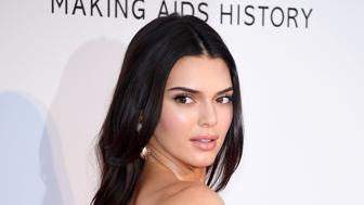 CAP D'ANTIBES, FRANCE - MAY 23: Kendal Jenner attends the amfAR Cannes Gala 2019 at Hotel du Cap-Eden-Roc on May 23, 2019 in Cap d'Antibes, France. (Photo by Daniele Venturelli/Getty Images for amfAR)