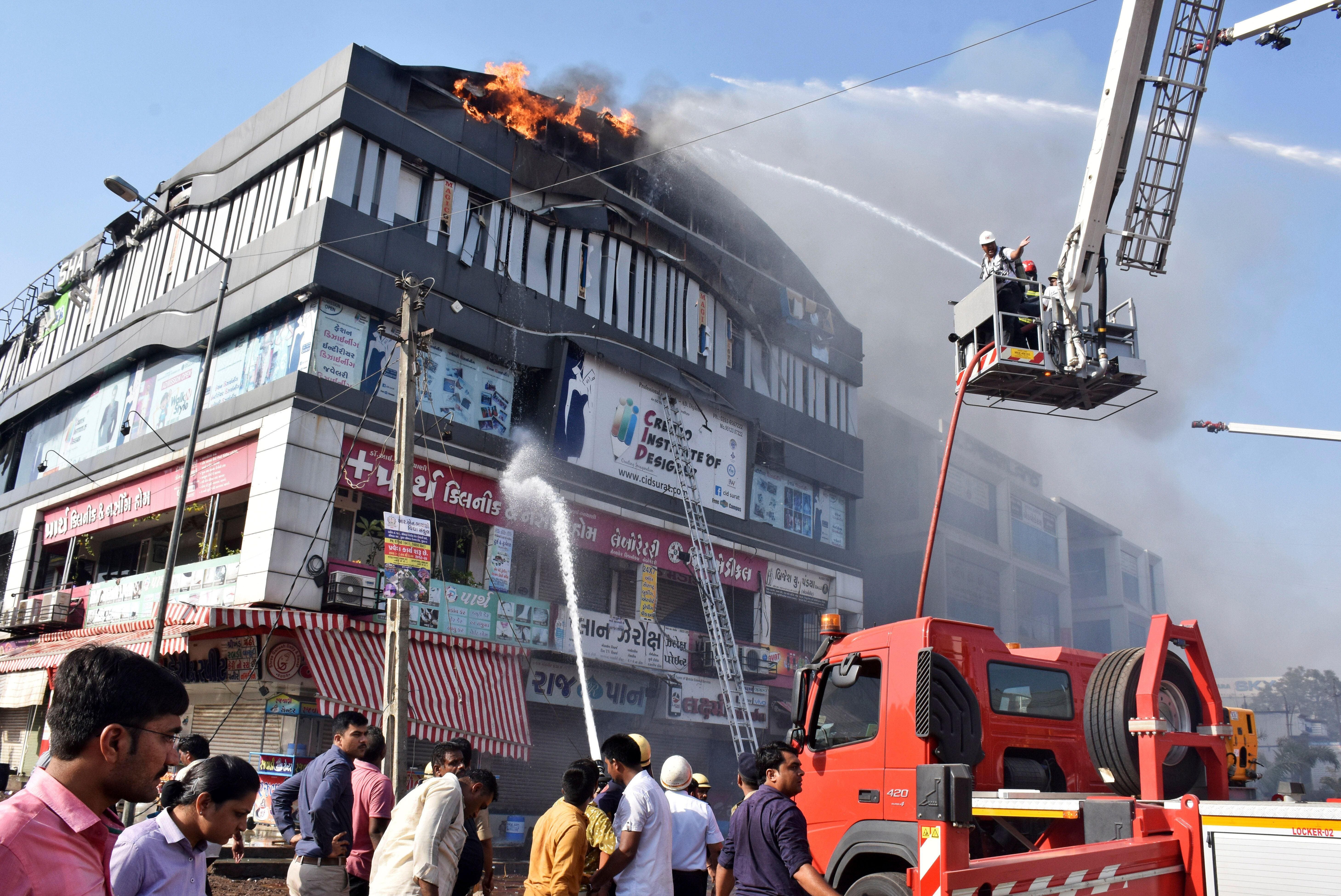 Surat Fire: At Least 15 Students Die After Commercial Complex