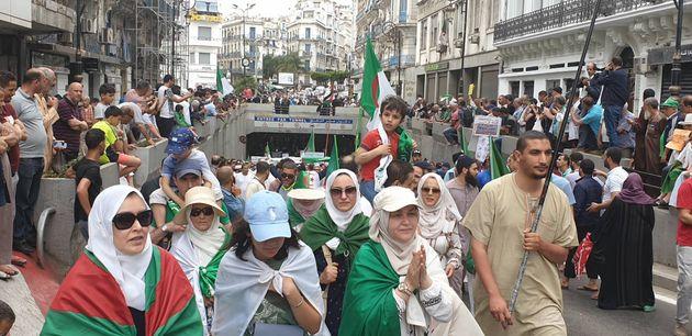 14e vendredi de marche à Alger : volonté et