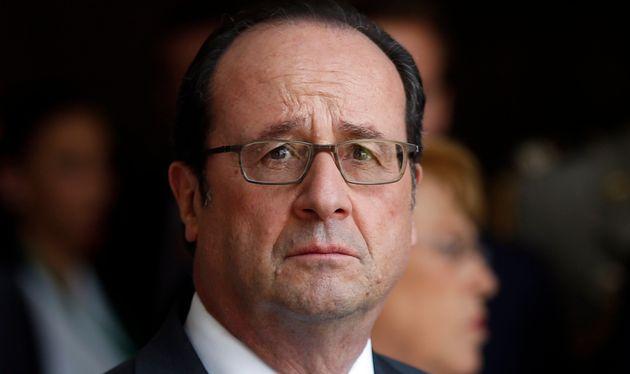 François Hollande lors d'une visite au Chili en janvier