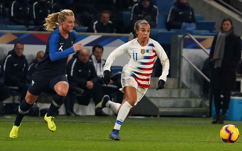 Amandine Henry (6) and France will chase the country's first Women's World Cup title, a victory that...