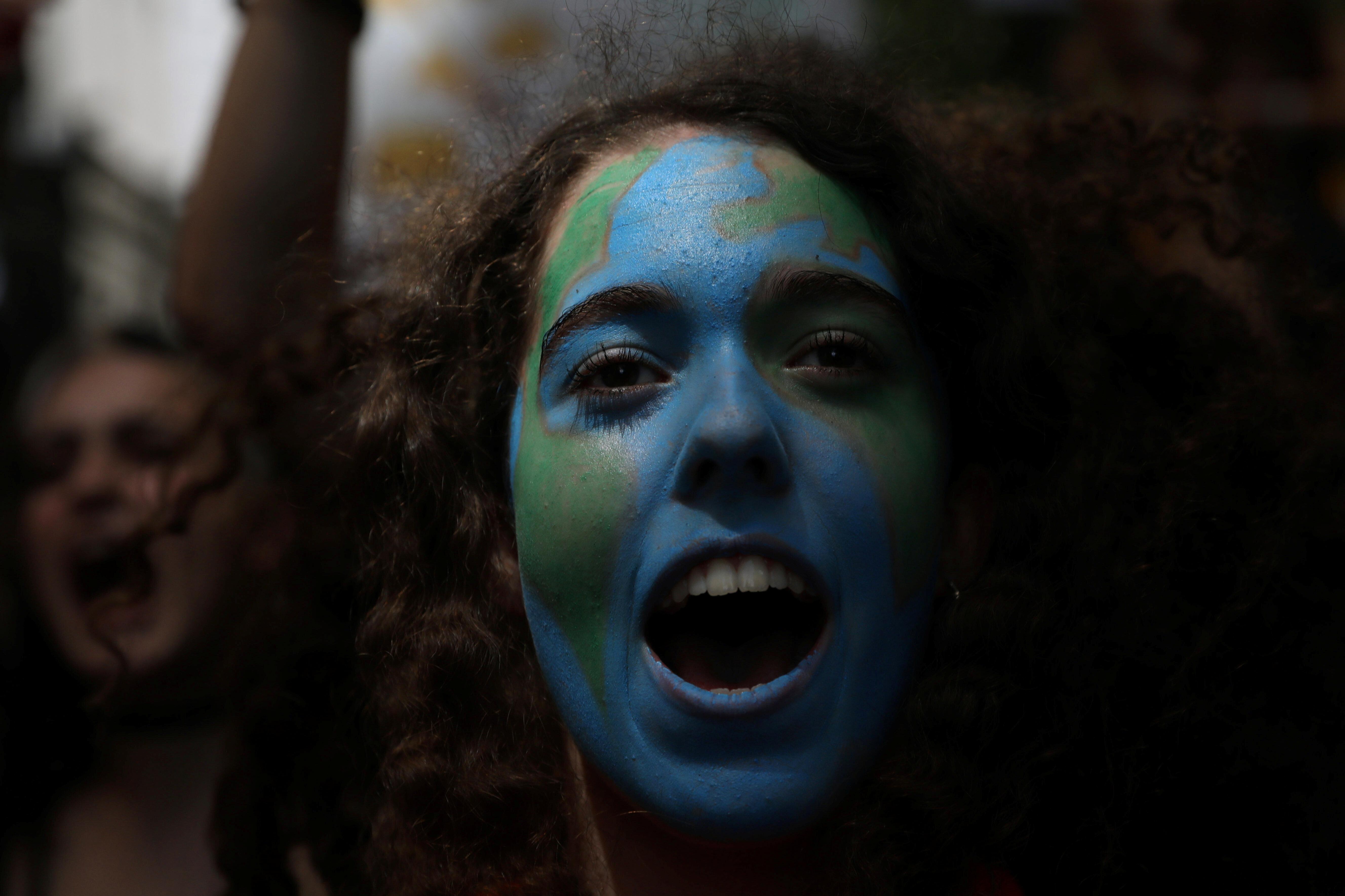 Decenas de miles de jóvenes de más de 100 países reprochan a los políticos su inacción contra el cambio climático