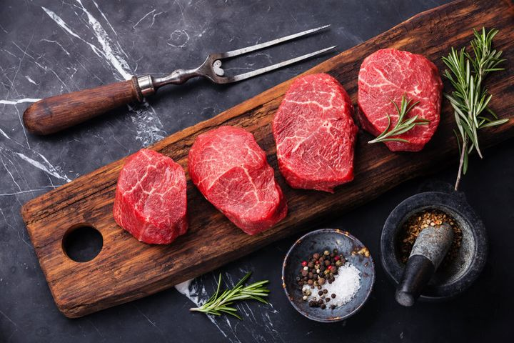 Red meat should be a 'once or twice a week' occurrence, not a 'once a day'.