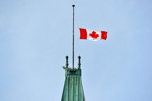 The waitlist to receive one of the flags flown from the Peace Tower is over 100