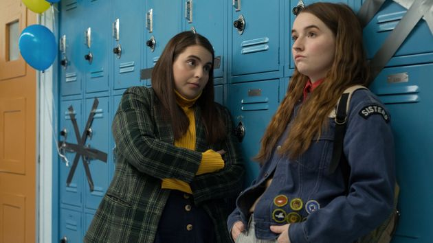 Beanie Feldstein (left) and Kaitlyn Dever (right) in