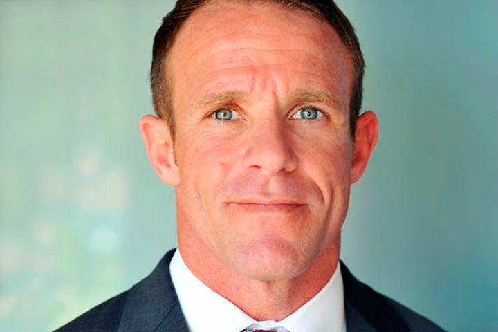 Navy SEAL Edward Gallagher is seen in a 2018 file photo.