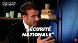 Journalistes convoqués par la DGSI: Macron invoque la sécurité