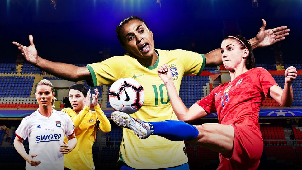Watch for amazing athletes like Amandine Henry of France, Sam Kerr of Australia, Marta of Brazil and Alex Morgan of the Unite
