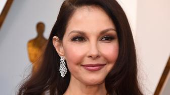 Ashley Judd arrives at the Oscars on Sunday, March 4, 2018, at the Dolby Theatre in Los Angeles. (Photo by Jordan Strauss/Invision/AP)