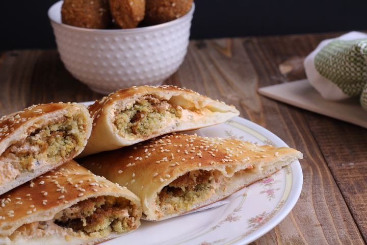 Fatyr are pastries filled with meat — and often not vegan.