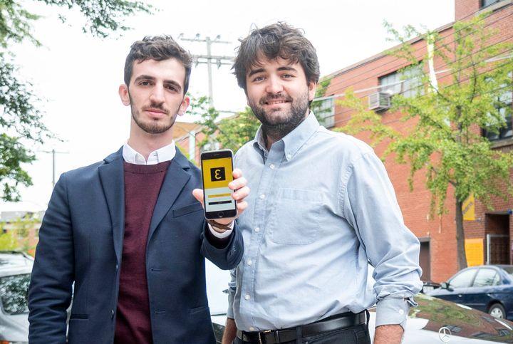 Dardan Isufi et Raphaël Gaudreault ont eu l'idée de fonder Eva lors d'une nuit blanche... dans un McDonald's de Lévis!
